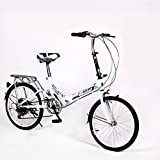 HIKING BK 20-inch Folding bike 6-speed Cycling Commuter Foldable bicycle Womens adult
