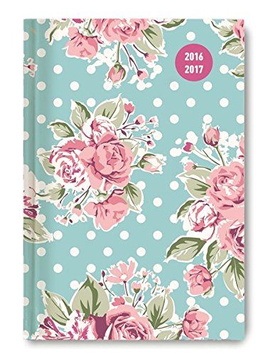 Collegetimer Roses 2016/2017 - Schülerkalender A5 - Weekly - 224 Seiten
