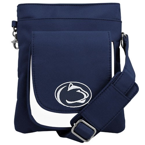NCAA Penn State Nittany Lions Crossbody Purse-Handbag-Travel - Penn State Nittany Lions Handbag