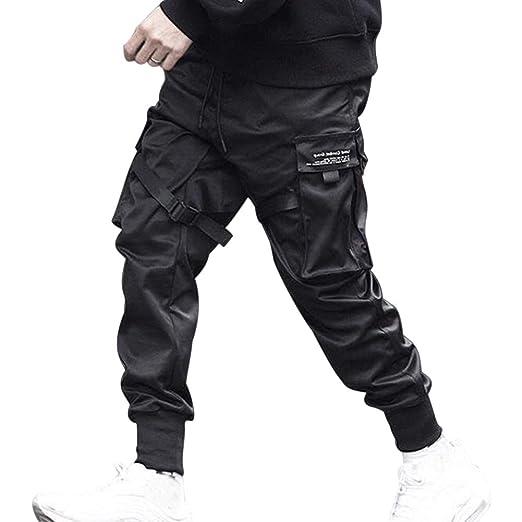 Liudan - Pantalones de chándal Casuales para Hombre, Varios ...