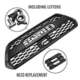 Front Grill for Tacoma 2016, 2017, 2018, 2019, Including SR, SR5, TRD Sport, TRD Off-Road, Limited, TRD PRO Grille (Not Compatible with 2018 & 2019 with Garnish Sensor)
