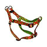 Yellow Dog Design Step-In Harness, X-Small, Christmas Polka