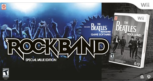 Wii The Beatles: Rock Band Special Value Edition