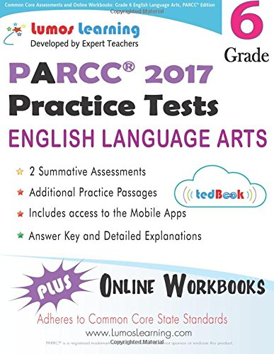 Common Core Assessments and Online Workbooks: Grade 6 Language ...