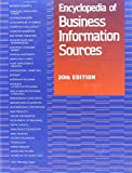 Encyclopedia of Business Information Sources 9780787683054