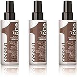 Uniq One Coconut Hair Treatment 150 ml All in One x 3 by Uniq One
