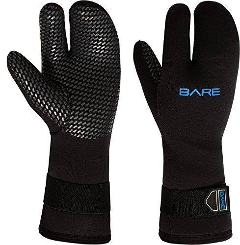 Three Finger 7mm Mitt Glove - Bare 7mm Three-Finger Mitt (X-Large)