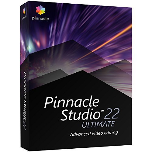 Pinnacle Studio 22 Ultimate - Advanced Video Editing and Screen Recording [PC...