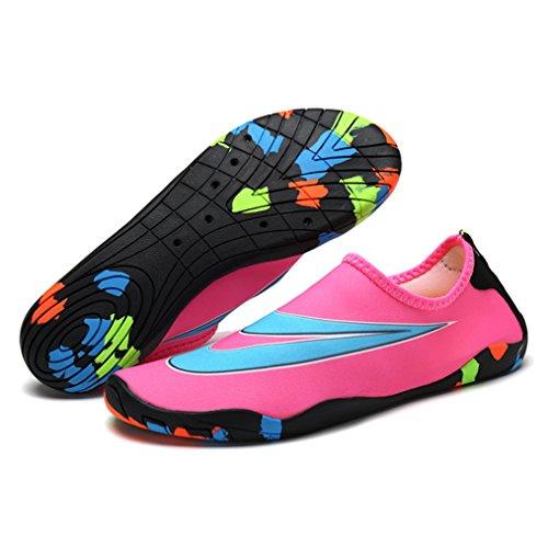 Cosstars Unisex Zapatos de Agua de Natación Calzado de Secado Rápido Respirable Zapatos de Agua Piscina Playa