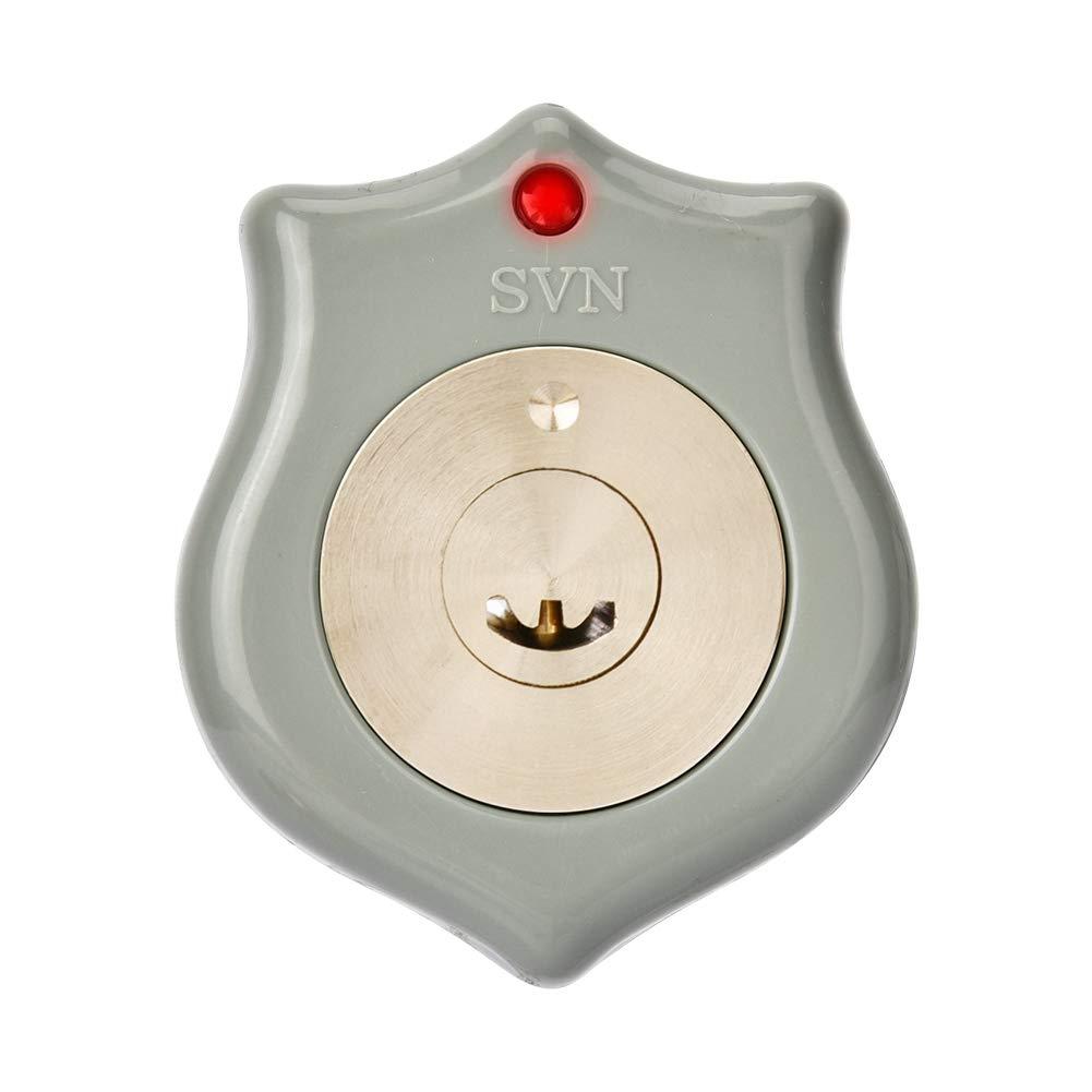Wireless Elektroschloss T/ür Zugriffskontrollsystem DC 12V Fernbedienung T/ürschloss Kit mit Wireless T/ür Access Control System