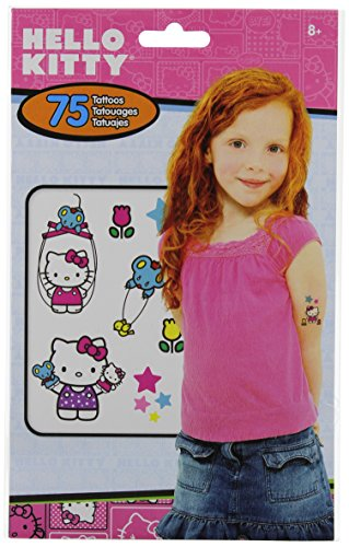 Hello Kitty Tattoos (Hello Kitty Temporary Tattoos - 75 tattoos)