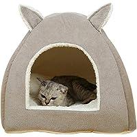 Cracklight Cat House, Animaux domestiques Chien Cat House Bed Coussin nid en Peluche