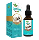 Tapee Paws Hemp Oil for Dogs and Cats 250 mg - Pain Relief - Calming - Fights Cancer - Remedies - Arthritis - Stress - Seizures - Muscle Spasms - Epilepsy - Separation Anxiety - Itching & Skin Allergies