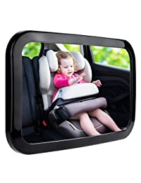 Zacro Baby Car Mirror, Shatterproof Acrylic Baby Mirror for Car, Rearview Baby Mirror-Easily to Observe the Baby's Every Move, Safety and 360 Degree Adjustabilit BOBEBE Online Baby Store From New York to Miami and Los Angeles