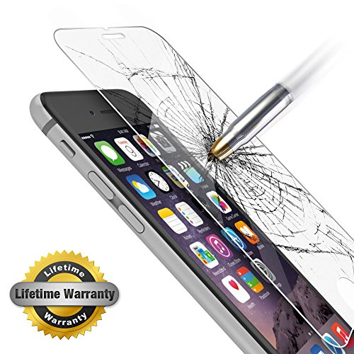 Tempered Glass Screen Protector for iPhone 6 Plus - 7