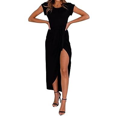 ADESHOP - Vestido elegante de verano para mujer, elegante, falda ...