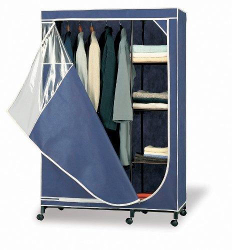 Organize It All 75116W1P Wardrobe Blue