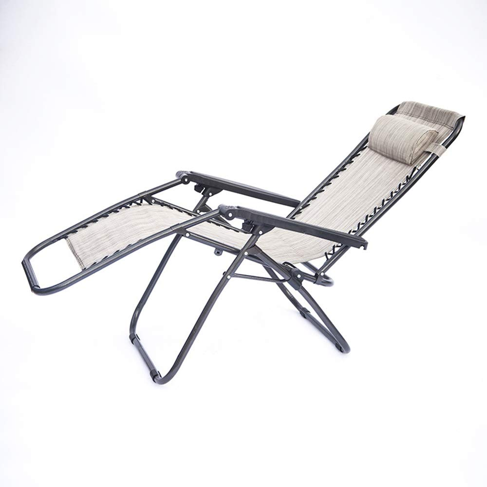 格安激安 JDGK - 格安 価格でご提供いたします ラウンジチェア 折りたたみ椅子スチールチューブランチブレイクチェア屋外折りたたみレジャーチェアポータブルラウンドチューブビーチチェアホーム 8974 B07T4J75RM