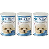 (3 Pack) Pet Ag Esbilac Powder Puppy Milk Replacer and Dog Food Supplement - 12oz