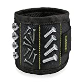Magnetic Wristband, Kusonkey 15 Magnets Holding Screws Nails Drill Bits Gifts Gadgets Tools Gift...