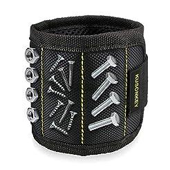 Magnetic Wristband, Kusonkey 15 Magnets ...