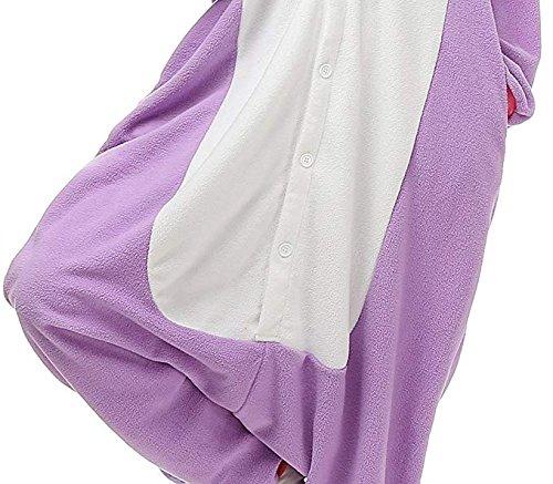 Kigurumi Pégase Pyjama Cosplay Tenue Costume Anime Adulte Halloween Purple VMpSGqUz