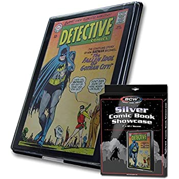 10 comic book showcase display frame silver age