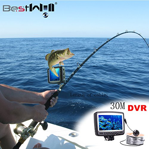 Hd underwater video fishing system CR110-7HB DVR 3...