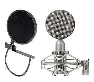 Pronomic RM-1 micrófono de cinta set con protector anti pop