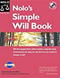 Nolo's Simple Will Book, Denis Clifford, 1413303609