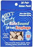 Mack's Ultra SafeSound Earplugs 30 pr