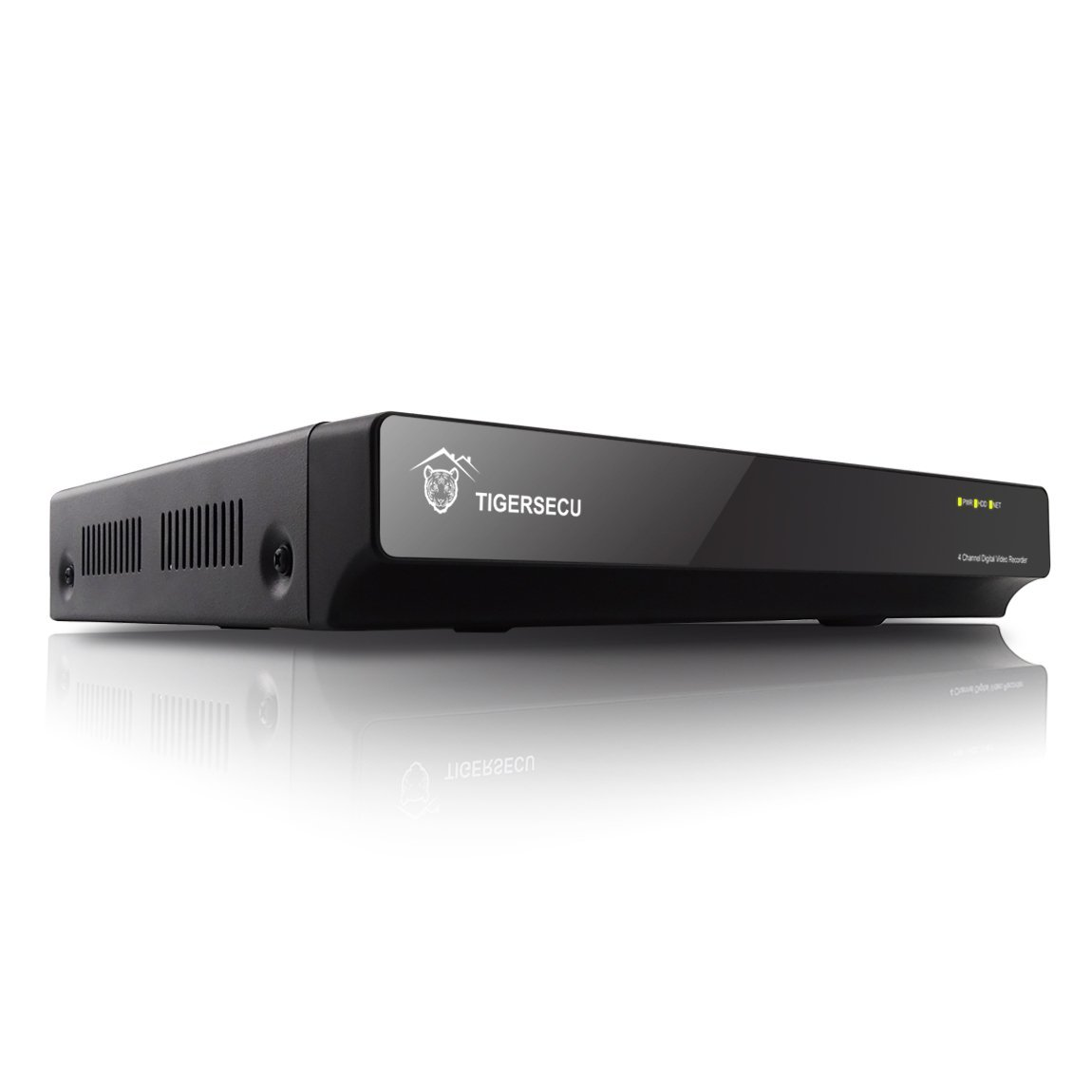 TIGERSECU Analog D1 4-Channel Home Security DVR Digital Video Recorder (No HDD and Cameras) (Certified Refurbished)