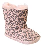 UGG Kids Baby Girl's Cassie Leopard (Infant/Toddler) Baby Pink Leopard Boot