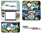 #8: Vanknight Vinyl Decals Skin Sticker Anime My Neighbor Totoro Cute for the New Nintendo 3DS XL 2015