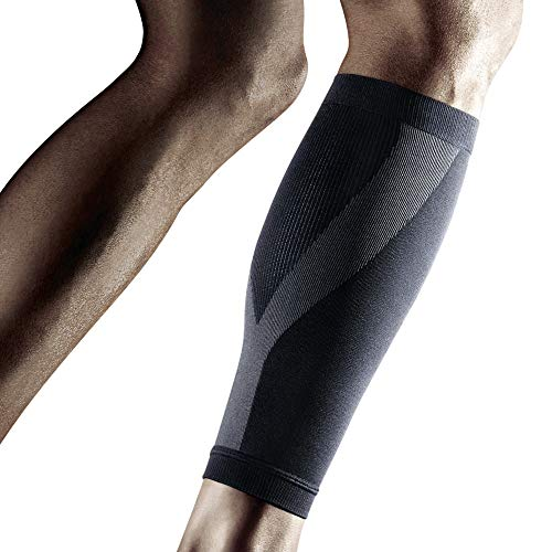 LP SUPPORT 270Z Calf Compression Sleeve Fitness Workout Running Walking Cycling Basketball Leg Pain Color Black Size Small