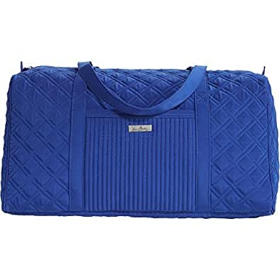 Vera Bradley Large Duffel Travel Bag Cobalt
