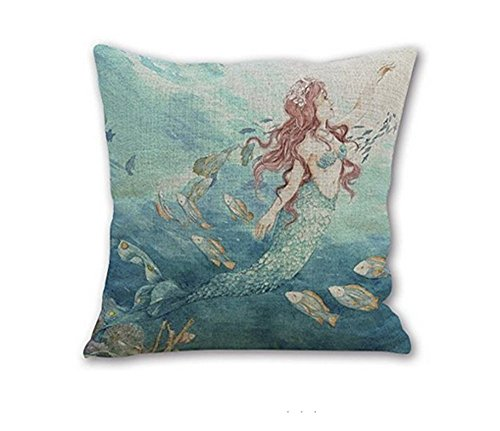51ioaH07DcL Best Mermaid Bedding and Comforter Sets
