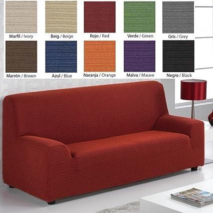 Funda de sofá elástica Ibiza, color Verde, 1 plaza: Amazon.es: Hogar