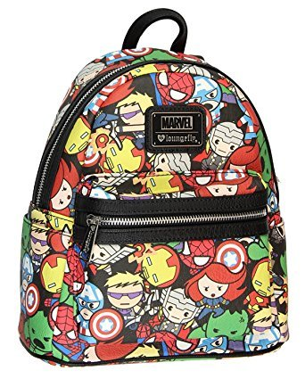 Loungefly X Marvel Avenger Kawaii Mini Backpack  Amazon.ca  Luggage   Bags 53c4af296d721