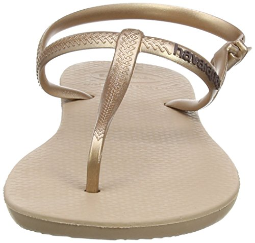 Havaianas Sandalias Mujer Freedom Beige (Rose Gold 3581)