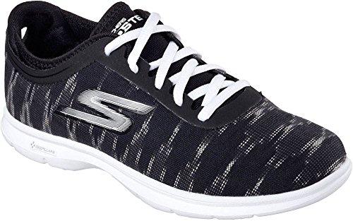 Skechers STEP Sneaker GO Women's Ikat Black White 8 US M qqwrS4E