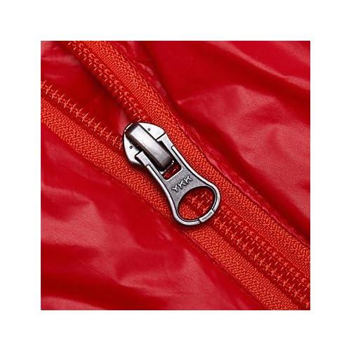 ZYT Highrock extérieur 3 saisons momie rouge 20d nylon 75% duvet de canard sac de couchage adulte