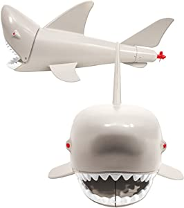 Plastic Toy Shark for WWE Wrestling Action Figures With Opening Mouth