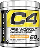 Cellucor C4 Pre Workout Supplements with Creatine, Nitric Oxide, Beta Alanine and Energy, 60 Servings, Orange Dreamsicle, 13.75 Oz (390 g)