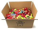 Assorted Bulk Candy Party Mix 92 oz Bulk Hot Tamales Mike and Ike Nerds Swedish Fish Twizzlers Sour Patch Starburst Skittles Gummies Sour. Individually Wrapped Fun Size Candy