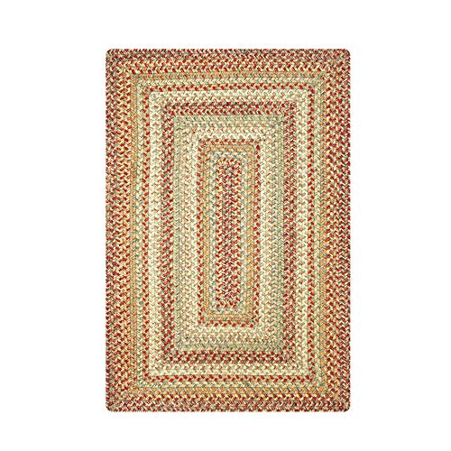 - Harvest Premium Braided Jute Rug by Homespice, 2.5' x 6' Rectangle Beige Color, Reversible Imported Jute Yarn, Higher Quality, Longer Lasting, Longer Wear - 30 Day Risk Free Purchase