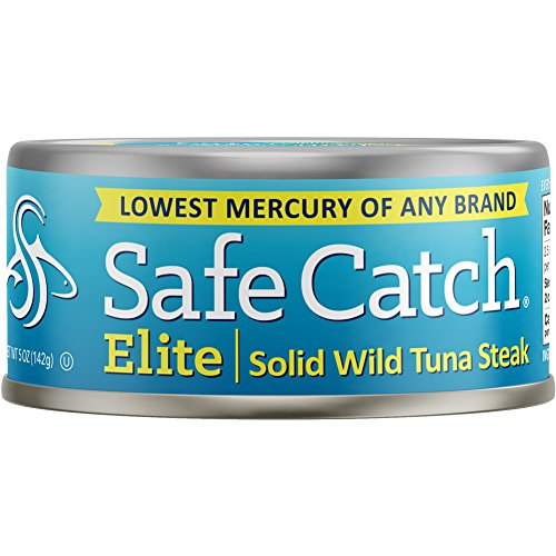Safe Catch Elite Wild Tuna, 5 Ounce(Pack of 12)