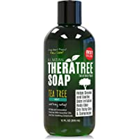 TheraTree Tea Tree Oil Soap with Neem Oil - 12oz - Helps Skin Irritation, Body Odor...