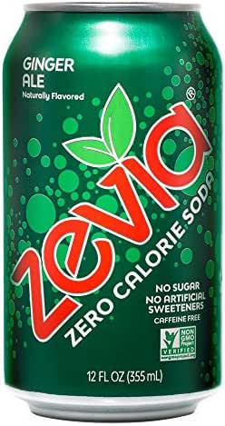 Soft Drinks: Zevia Ginger Ale