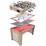 Hathaway Madison 54-in 6-in-1 Multi Game...